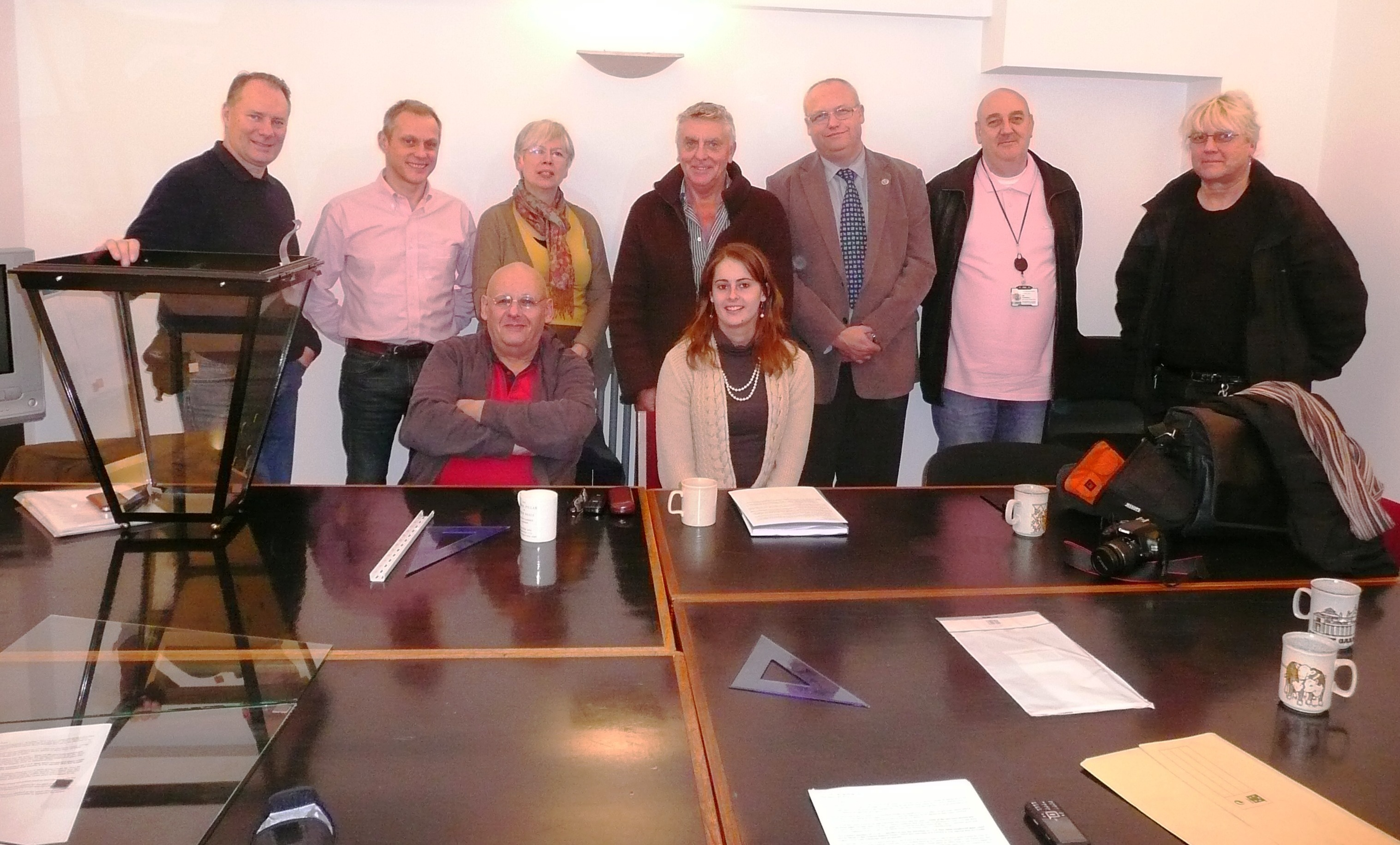 Lighting Group meeting, November 2012, reviewing manufacturer's mistakes. Camden, Westminster, Shaftesbury PLC and the Trust.