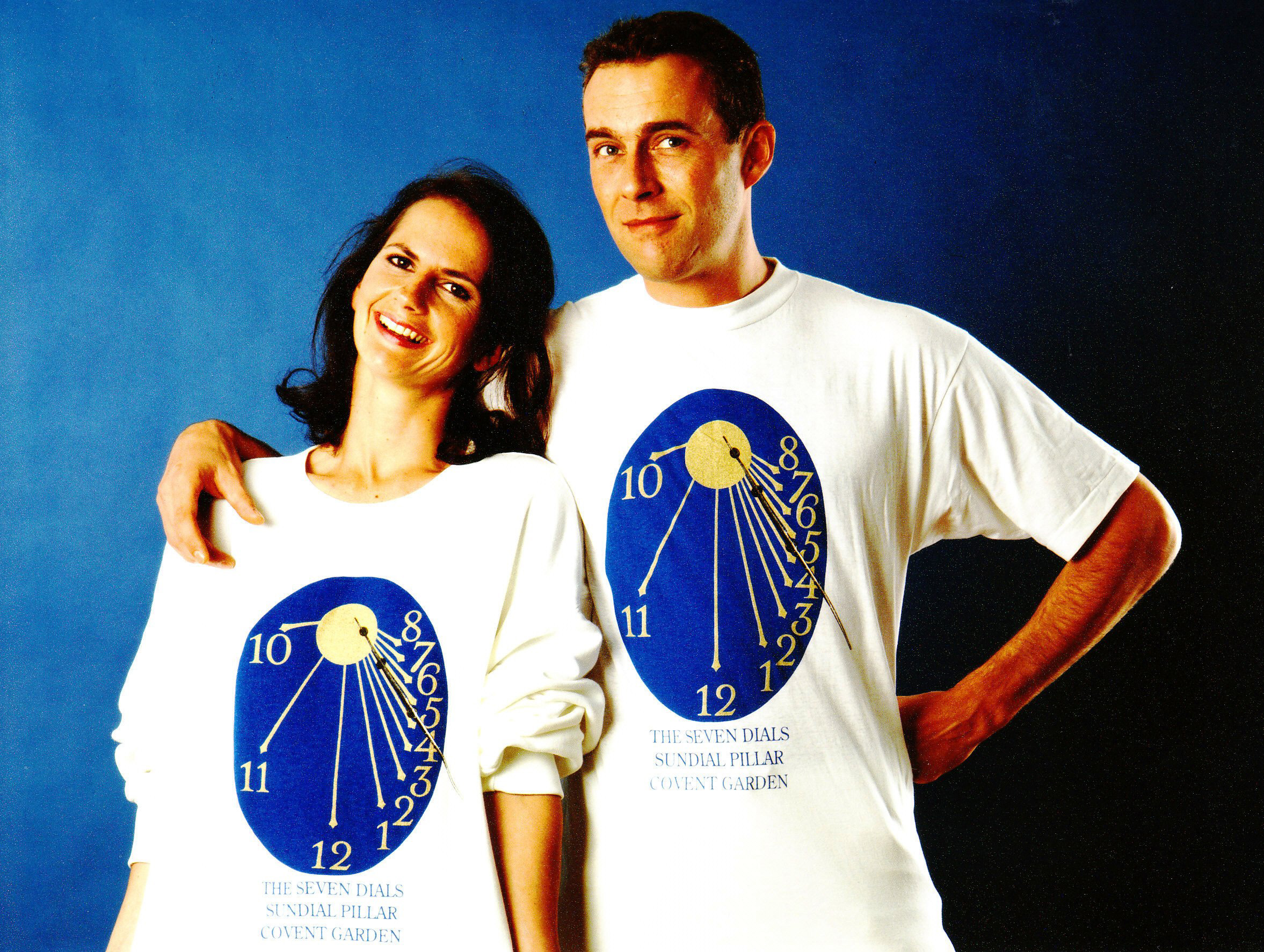 His and hers Tee-shirts with dial face.