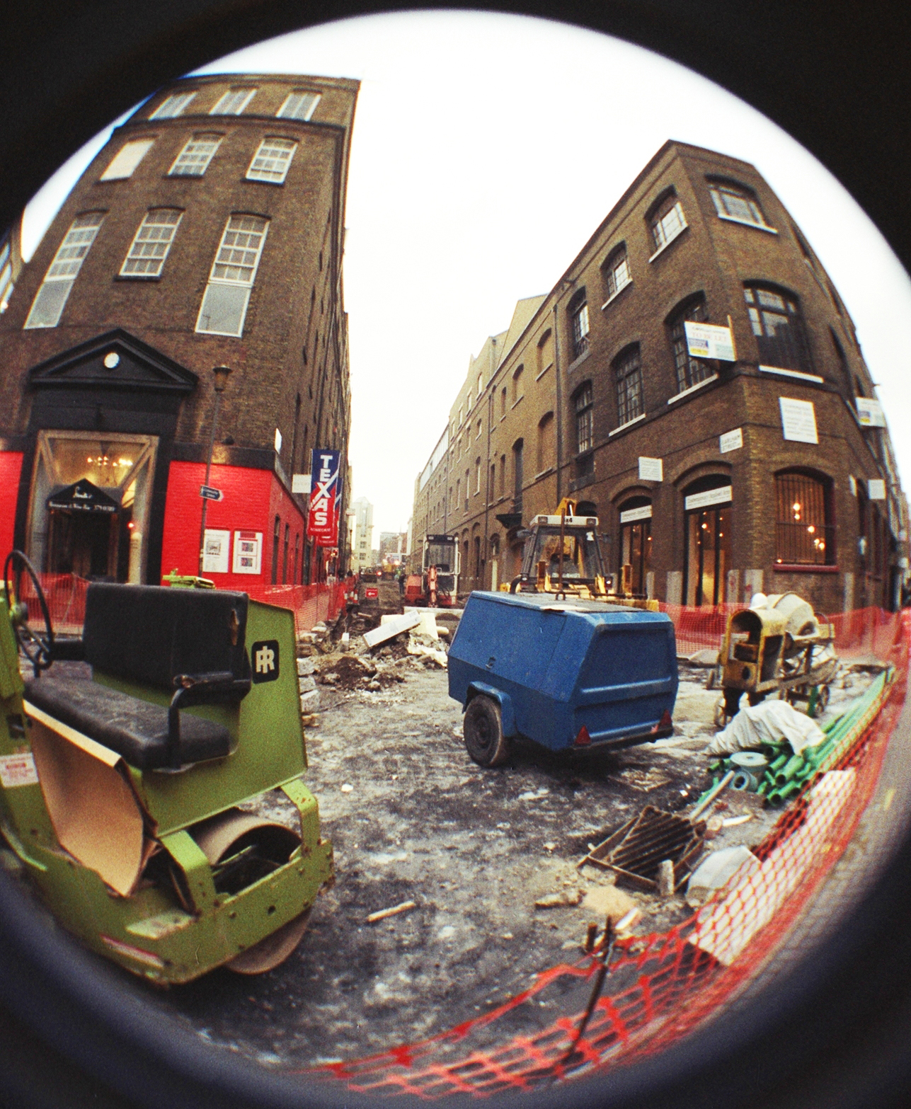 The works begin on Neal Street and Earlham Street east.