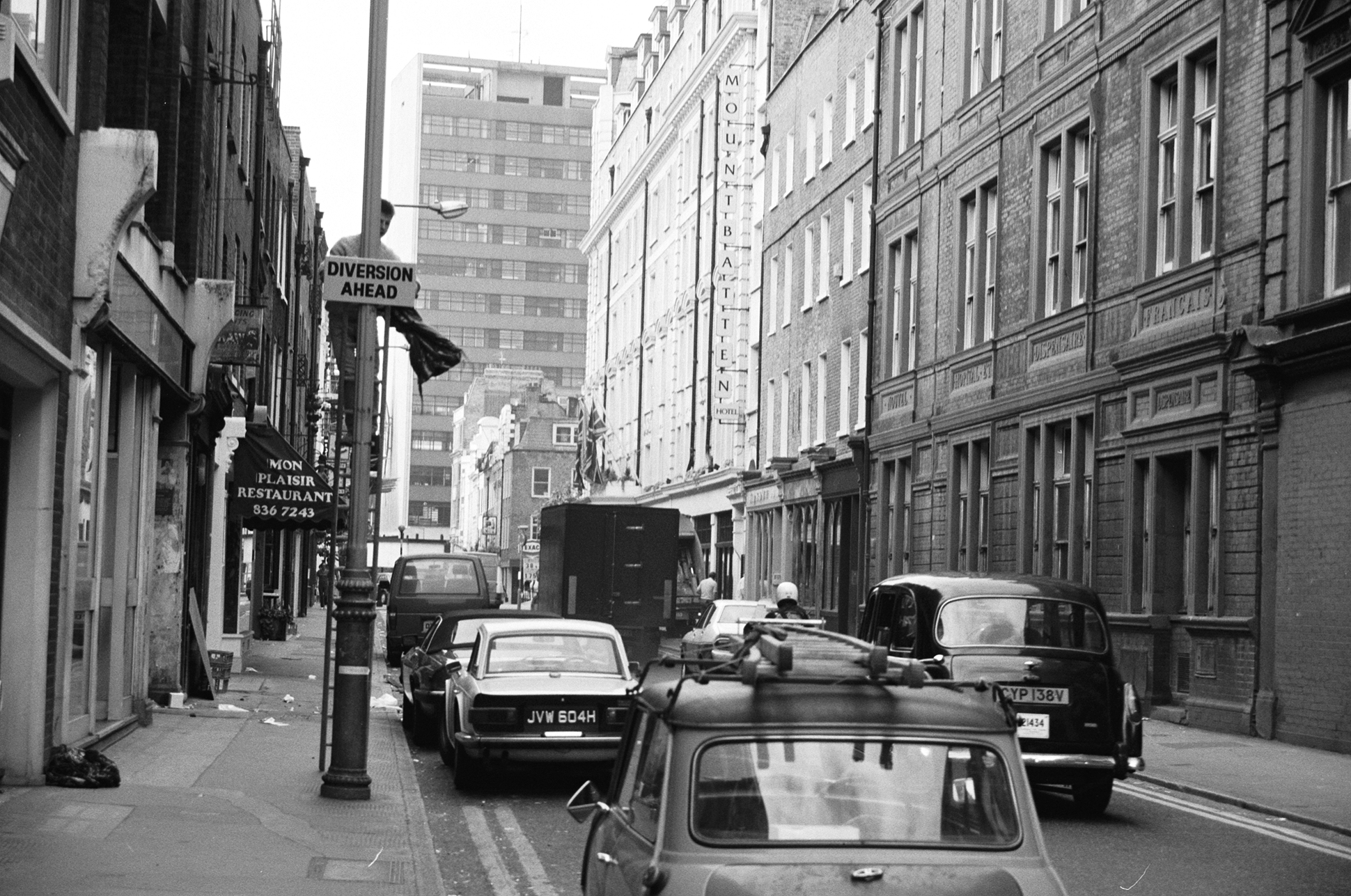 Monmouth Street in the 1960s.