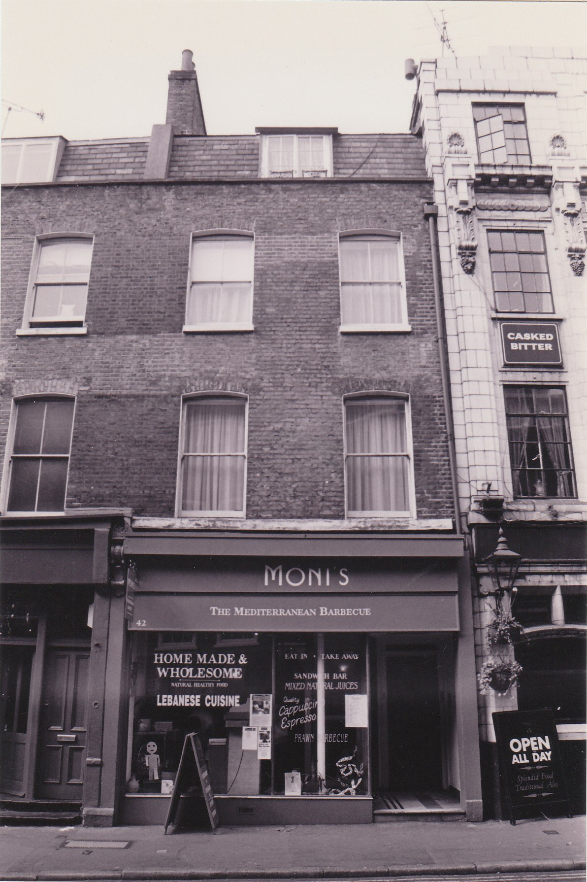 42 Monmouth Street before restoration.