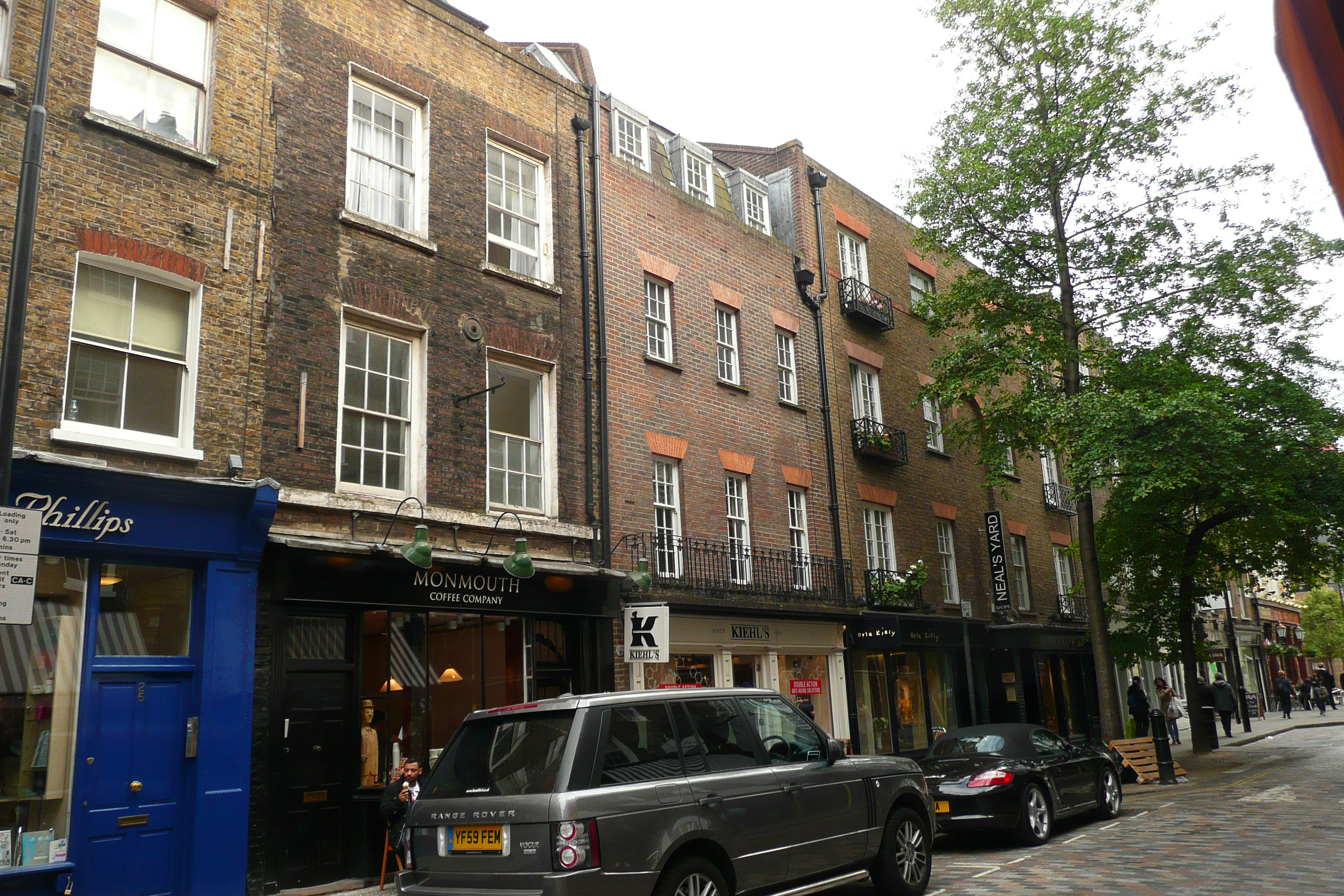 Monmouth Street, restored by Marler Estates and Shaftesbury PLC.