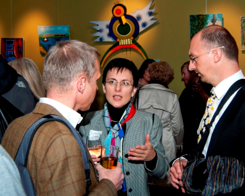 Banners reception: Tom Welton (Shaftesbury PLC); Amanda Rigby (trustee and local resident); Tim Long (LB Camden).