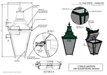 V3 lantern with �sugar bowl�