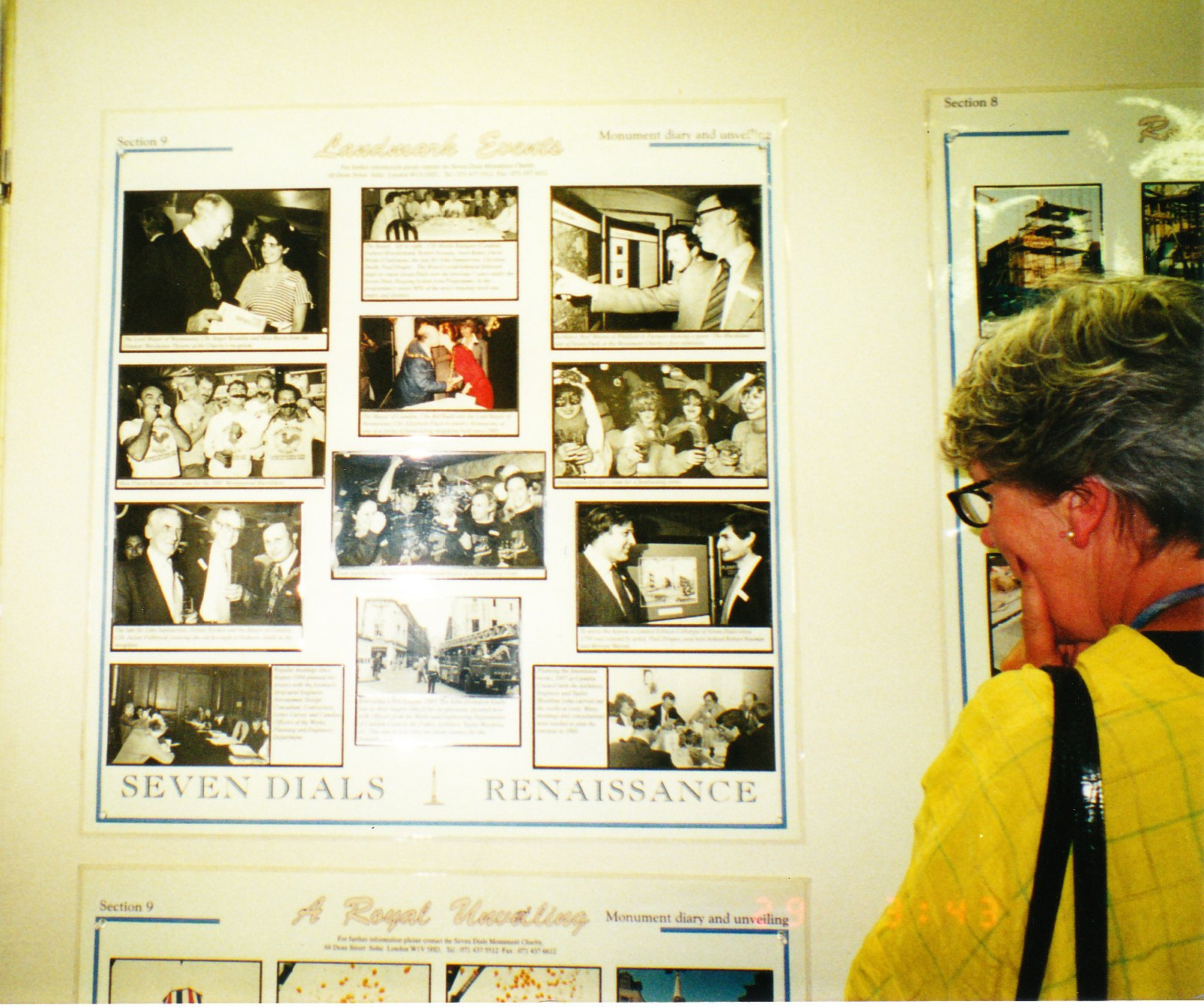 The Exhibtion has been shown in many venues, including Camden and Westmiinster Town Halls.
