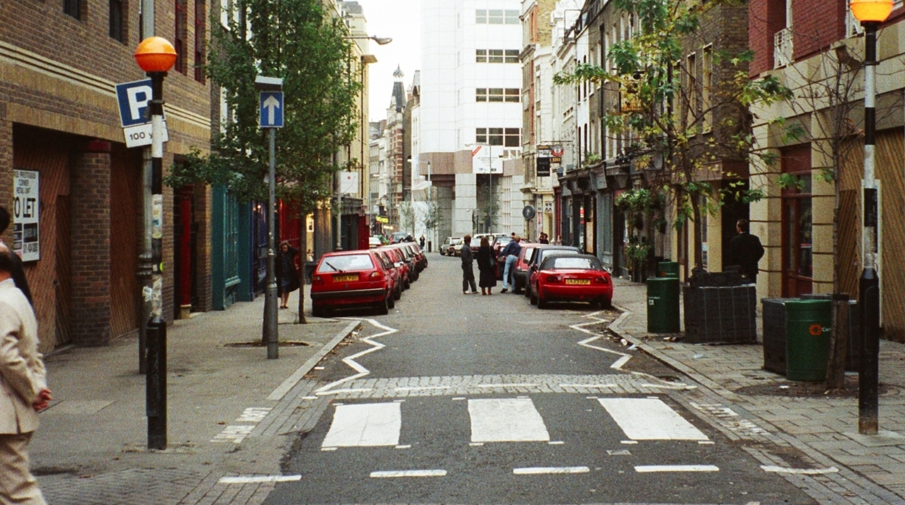Monmouth Street North before works.