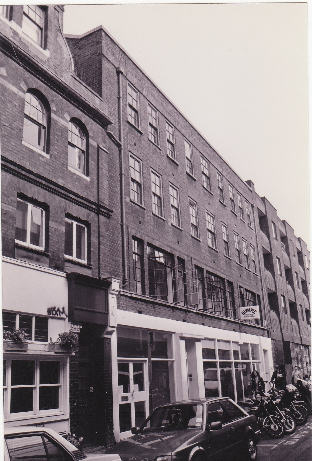 7-9 Earlham Street before restoration.