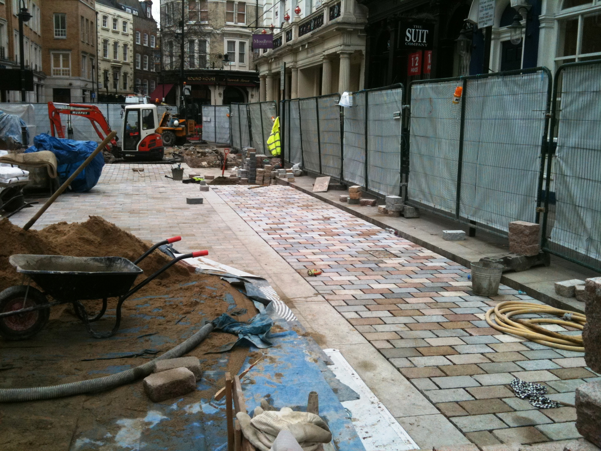King Street works in progress, Westminster and freeholders Capco