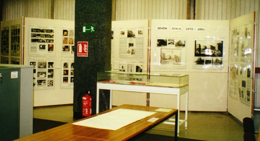 The Exhibition has been displayed in many venues, including Camden Town Hall and City Hall, Westminster.