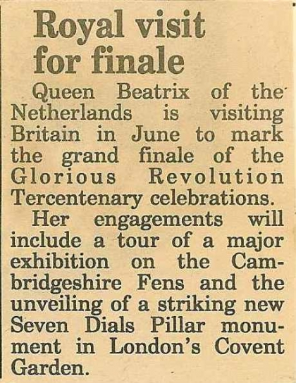 1989—Royal visit for finale